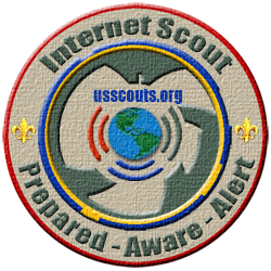 Internet  Scout Patch