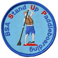 Stand Up Paddleboarding Badge