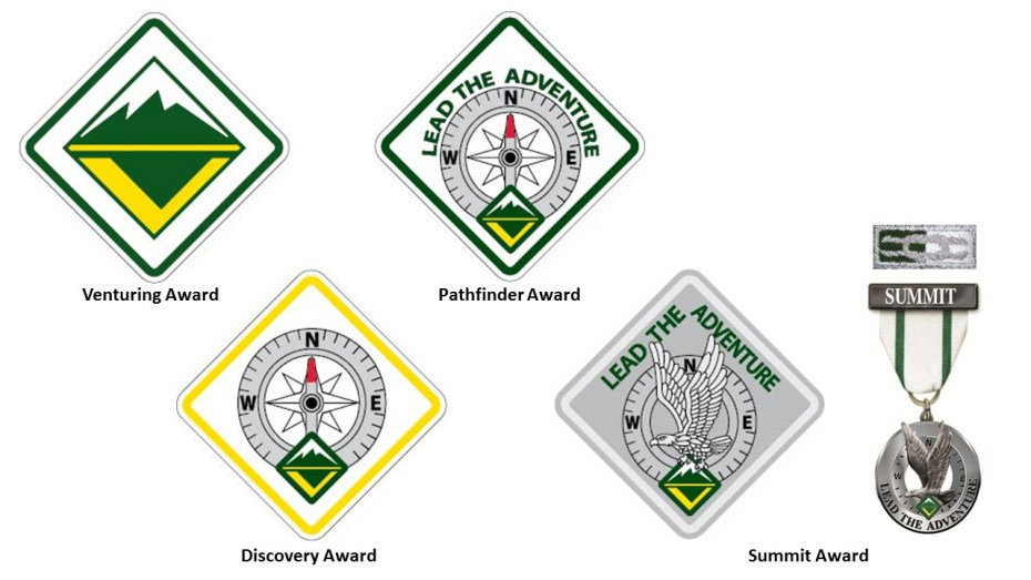 ae90dfd4c661 Venturing and Sea Scouting Awards