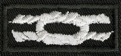 Silver World Award Knot.