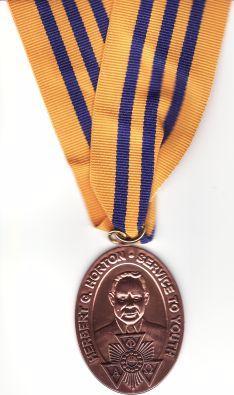 Alpha Phi Omega Herbert G Horton Service to Youth Award
