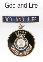 God and Life medal