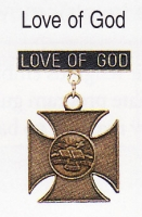 Love of god medal