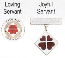Loving Servant and Joyful Servant medals