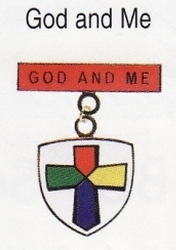 God and Me medal