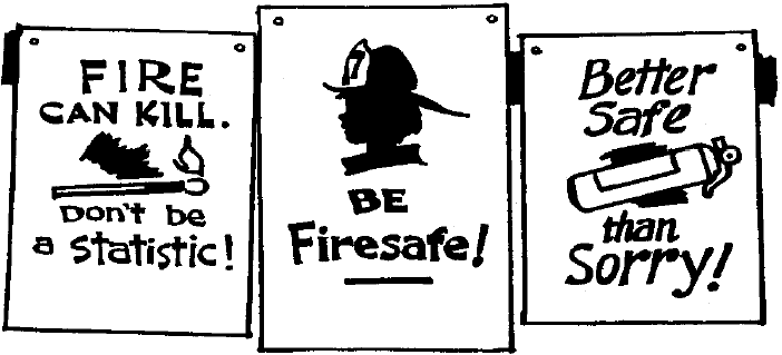 Fire Safety Slogans and Quotes http://usscouts.org/bbugle/BB0509/bb_packdenactivities.html