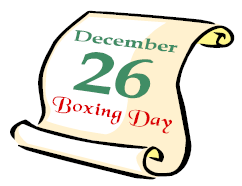 Boxing day clip art pictures