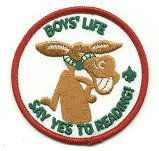 New 1998 Boys Life Say Yes To Reading Patch
