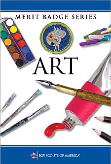 Worksheets Art Merit Badge Worksheet art merit badge 2007 2013 pamphlet
