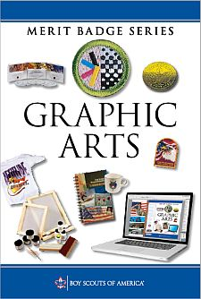 graphic arts merit badge. Black Bedroom Furniture Sets. Home Design Ideas