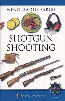 merit badge boy shooting shotgun scout pamphlet scouts badges eagle cub amazon scouting bsa safety requirements america pamphlets books fire